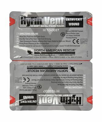 North American Rescue Hyfin Vent Chest Seal, 2 Count 1