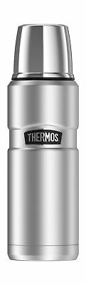 Thermos Stainless King 16 Ounce Compact Bottle, Stainless Steel