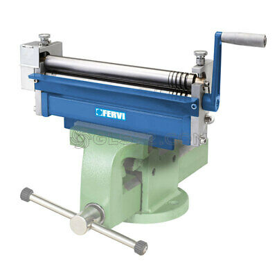 Mini Hand Forming Bending Rolls Machine 3 Rollers Fervi 0235 Vice Not Included