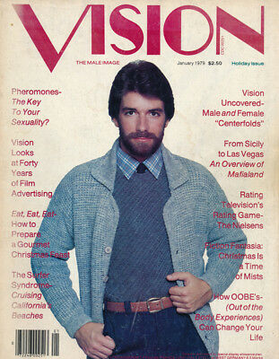 Gay interest magazine Jan 1979 VISION The Male Image vintage