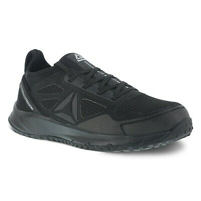 8b3859c51c87 Reebok Shoes  Men s Steel Toe RB4090 All Terrain EH Black Athletic Work  Shoes