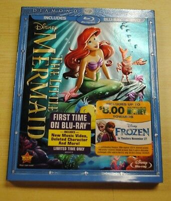 The Little Mermaid Diamond Edition Blu-Ray / DVD Combination Set *