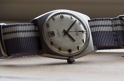 vintage Uhr Tourist Automatic Cal. ETA  watch Swiss alt