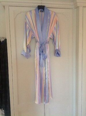 Christian Dior Silk Dressing Gown Uk 8