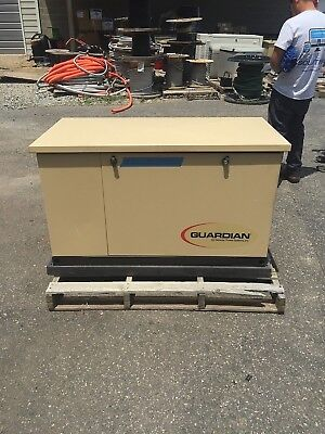 Generac 16 kW   NG Home Standby Generator, used, Model G0052431 (#5)