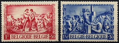 Belgium 1945 SG#1114-1115 War Victims Relief Fund MH Set #D74670