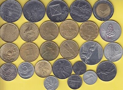 Italy  nice lot of 26 coins..................41
