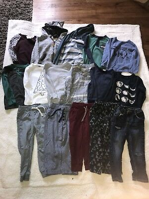 Huge 3T Boys Lot Of Fall/Winter Clothes Old Navy, Target, etc (16 pieces)