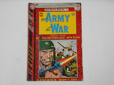 Our Army At War #148, (DC . Nov. 64), Generals Don't Die Book 2, 6.5  FN+