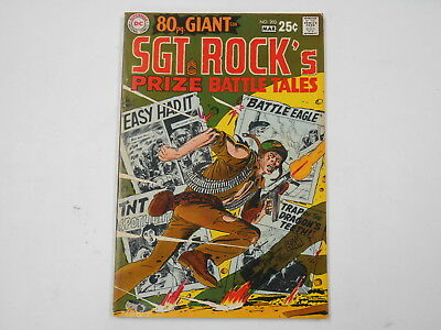 Our Army At War #203, (DC. Mar. 69), 80 Pg.Giant - Prize Battle Tales., 8.0  VF