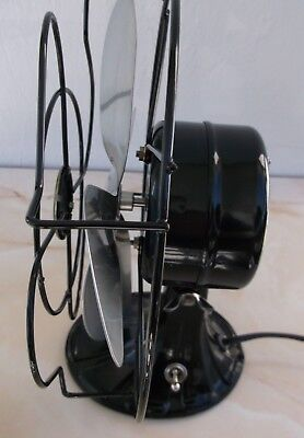 """ANTIQUE/VINTAGE/DECO 30's ELECTRIC 8"""" A.C. GILBERT FAN-PROFESSIONALLY RESTORED"""