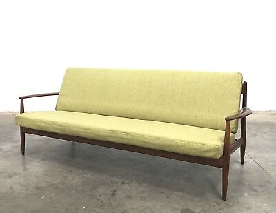 Grete Jalk for France & Son Three Seat Sofa. Danish Mid century Vintage