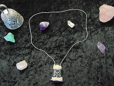 Genuine Vintage Pagan Ritual Wiccan Altar Blessing Amulet Reclaimed Rune Stone