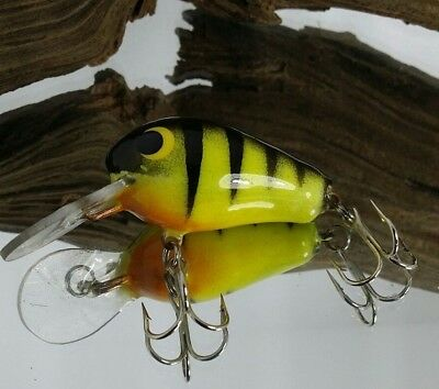 Vintage One Of A Kind Wes England Wee Bait Championship Winning Tight Wobble