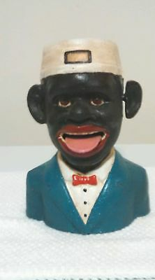 Black Americana Mechanical Bank (Bellboy)  by J.E. Stevens