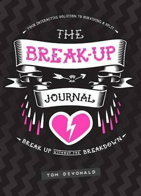 The Break-Up Journal by Tom Devonald Book The Cheap Fast Free Post