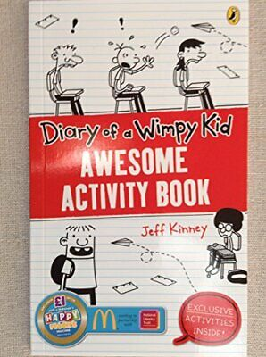 Diary of a Wimpy Kid: Awesome Activity Book by Kinney, Jeff Book The Cheap Fast