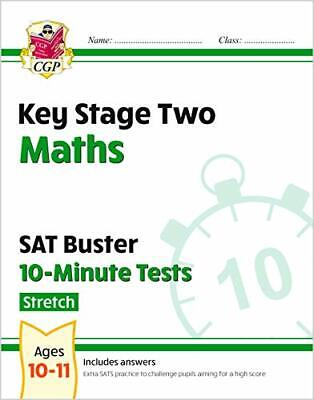 KS2 Maths Targeted SAT Buster 10-Minute Tests  - Advanced (for t... by CGP Books