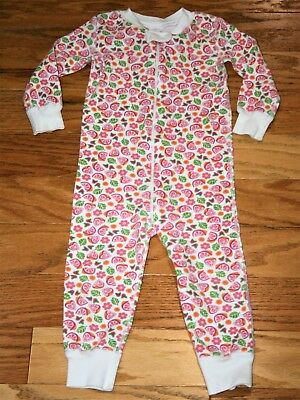 Clothing, Shoes & Accessories Kind-Hearted Hanna Andersson Girls Pajama Set 80 Ocm Or 18 24 Mths Owls Christmas Organic
