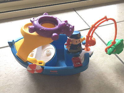 Fisher Price -  Little People Fishing Boat with Captain