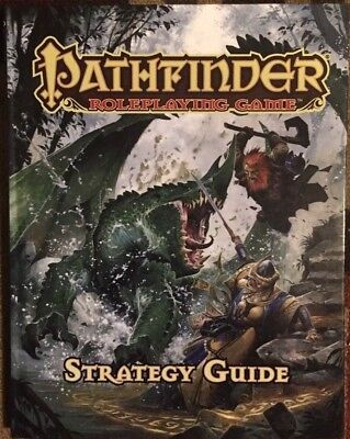 Pathfinder Roleplaying Game Strategy Guide Hardback