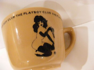 PLAYBOY CLUB Coffee CUP MUG lady Bunny Jackson Falls Creek PA China Iridescent