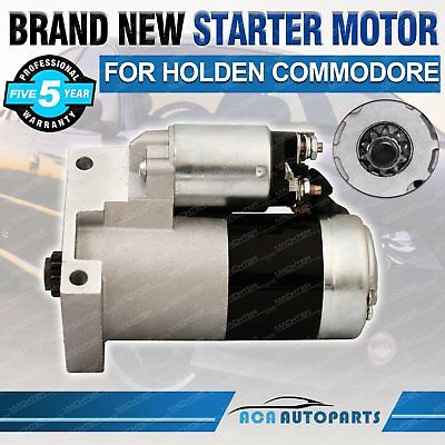 NEW Starter Motor For Holden Commodore Calais VP VR VS VT VX VY V6 3.8L Manual