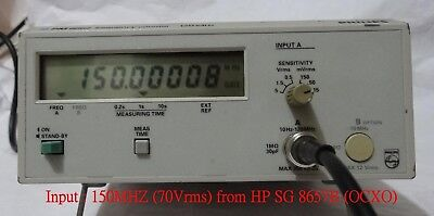 USED FLUKE/PHILIPS PM6662 120MHZ Frequency Counter