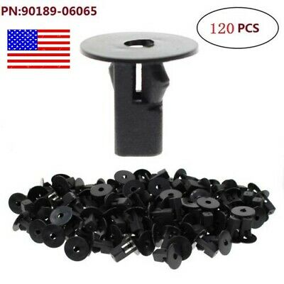 40Pcs Car Fender Bumper Retainer Rivet Clips for Toyota 4Runner Camry Celica