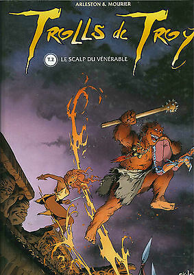 Edition Originale 1998 Trolls De Troy T2 Le Scalp  Du Venerable Arleston Mourier