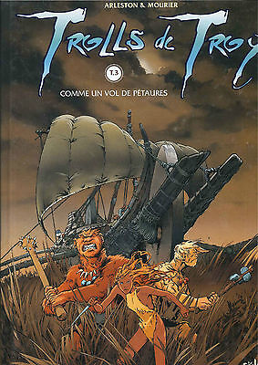 Edition Originale 1999 Trolls De Troy T3 Comme Un Vol De Petaures Arleston