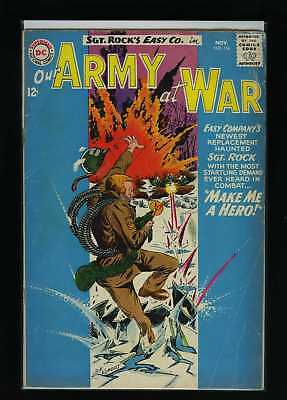 Our Army At War #136 G 1963 DC Comic Book