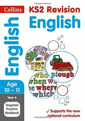 Year 6 English SATs Targeted Practice Workbook by Collins KS2 New Paperback Book