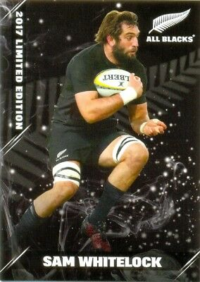 2017 ESP TLA All Blacks Limited edition cards 22/25 Sam Whitelock 045/150