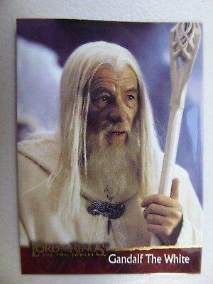 TOPPS Lord of the Rings: The Two Towers - Trading Card #2 GANDALF THE WHITE