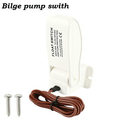 Auto Float Switch 12V 24V 32V On Off Automatic Bilge Pump Control Level Water