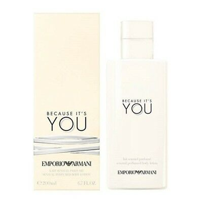 Armani BECAUSE IT'S YOU Body Lotion 200ml