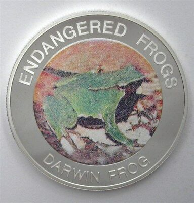 Malawi 2010 10 Kwacha Endangered Frogs Series- Darwin Frog - Perfect Proof Dcam