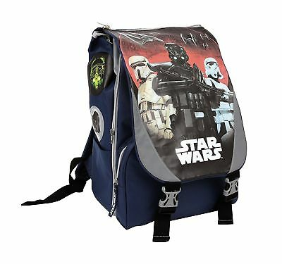 Zaino Estensibile Star Wars Darth Vader con Gadget  Grafica Intercambiabile