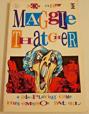 You Are Maggie Thatcher - A Dole Playing Game - Pat Mills