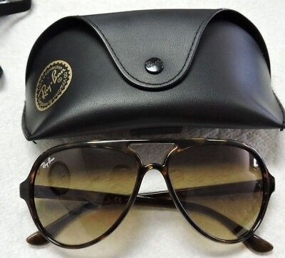 f483feb6a55 Ray-Ban CATS 5000 RB4125 710 51 Light Brown Gradient Lenses Tortoise Frame