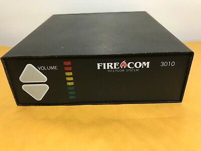 Fire Com 3010 Intercom System