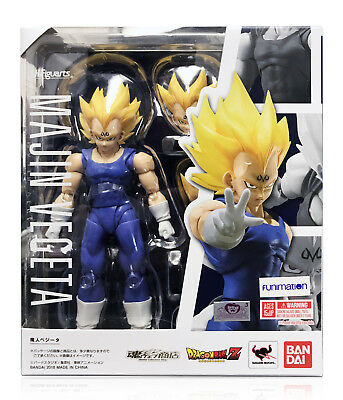 Bandai Tamashii Dragon Ball Z S.H.Figuarts Majin Vegeta Figure NEW In Stock USA