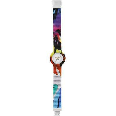 Orologio HIP HOP TAHITI HWU0460 32mm Silicone Colorato Bianco Unisex