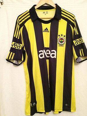Fenerbahce 2008 / 2009  Home Football Shirt .
