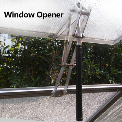 7KG Solar Greenhouse Automatic Window Opener Auto Roof Vent Green House Silver
