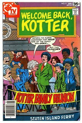 Welcome Back, Kotter #9 NM- 9.2 ow/white pages  DC  1978  No Reserve