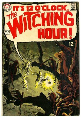 Witching Hour #3 VG+ 4.5 off-white pages  DC  1969  No Reserve
