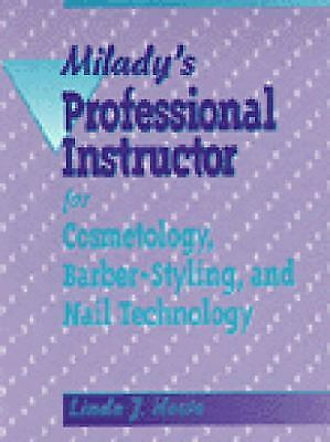 Milady standard barbering by milady english hardcover book free miladys professional instructor for cosmetology barber styling and nail fandeluxe Image collections
