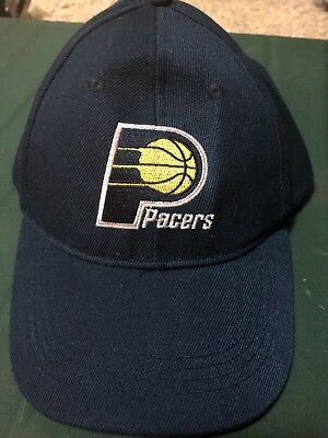 63293d1ed67 ... ebay new indiana pacers blue throwback mitchell ness nba custom snapback  hat cap 36ffa c2cef